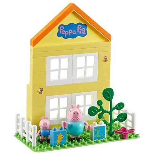 Peppa Pig House Construction Set With 2 Figures