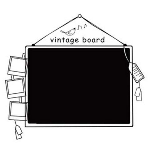 Chalk Wall Blackboard For Kids Blackboard Wall Sticker