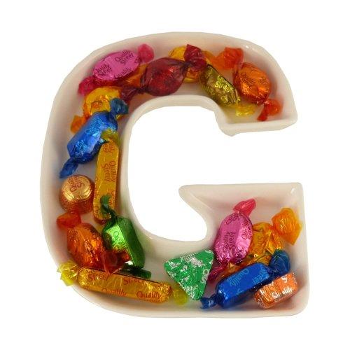 G Alphabet Dish