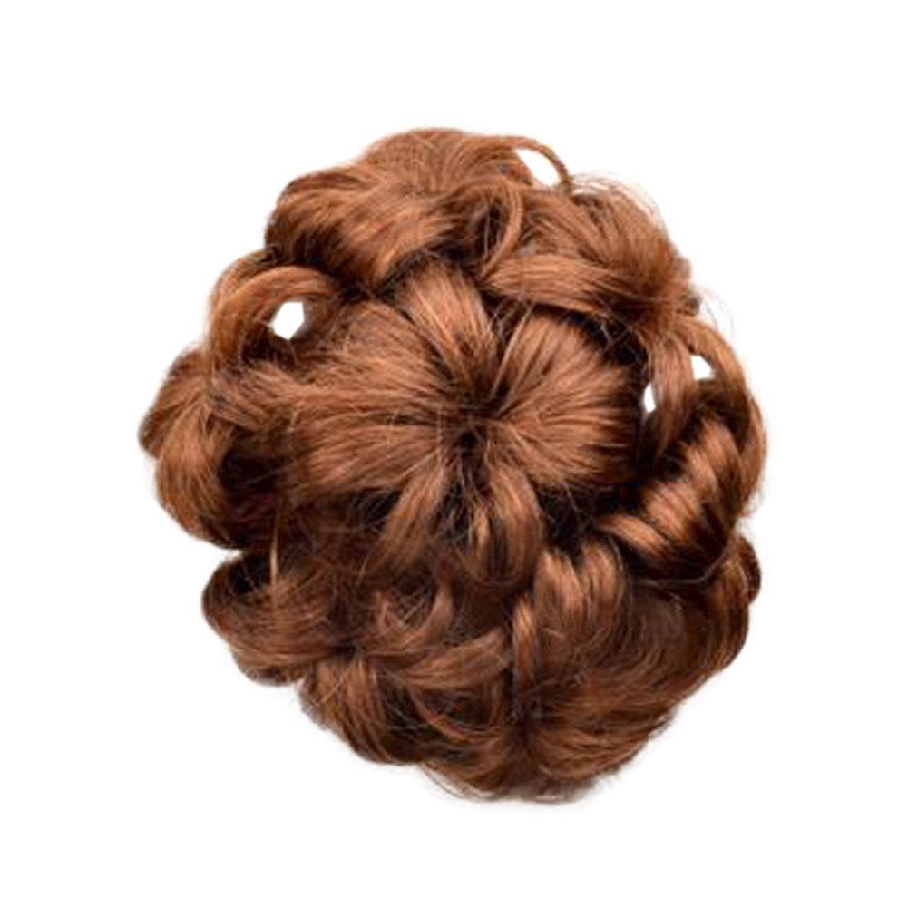 Beautiful Human Fancy Hair Bun Donut Hair Bun Extension For Women