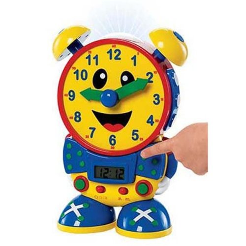 The Learning Journey 075418 Telly the Teaching Time Clock-Primary