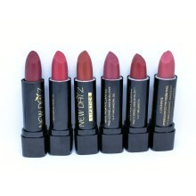 New Daiz 6 Pack Lipstick Set Various Shades