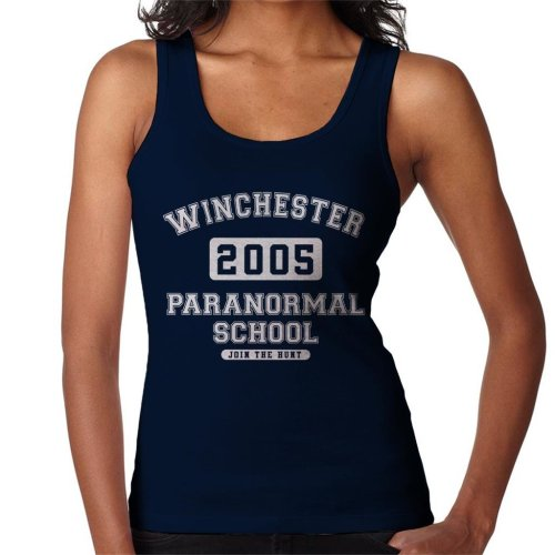 Winchester Paranormal School Varsity Text Women's Vest