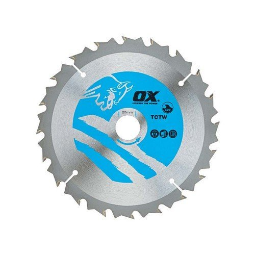 OX TCTW-NG-2603060 Wood Cutting Negative Rake Circular Saw Blade 260 x 30mm 60 Teeth