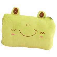Green Frog-Hand Warmer Pillow Soft Short Plush Hand Warmer Cushion,11.8x9''