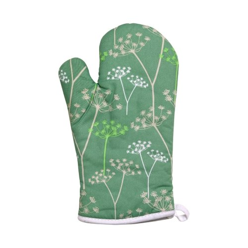 Cow Parsley Single Oven Glove