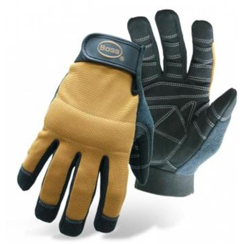 Boss Mfg Co 5206L Glove Mechanic X-Tough, Large