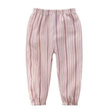 Comfortable Soft Children's Trousers, Pink Stripes