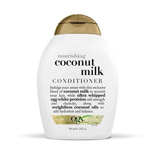 OGX Nourishing Coconut Milk Conditioner 13 Ounce (Pack of 3)