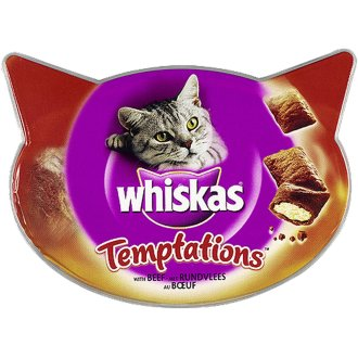 Whiskas C&t Temptations Beef 60g (Pack of 8)