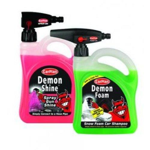 CarPlan Demon Foam & Shine Gun Bumper Kit