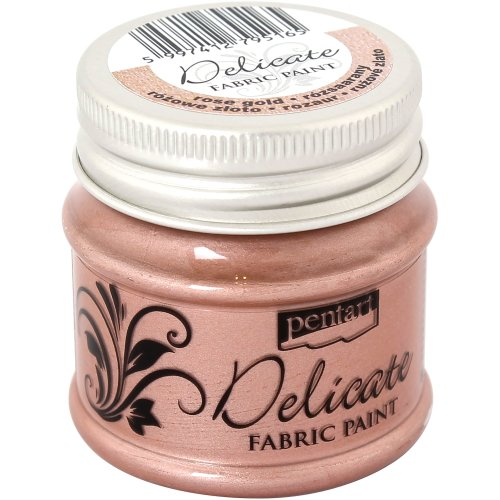 Delicate Fabric Paint 50ml-Rose Gold