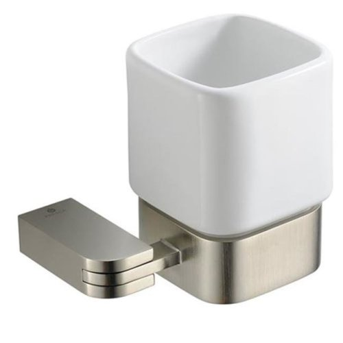 Online Gym Shop FAC1314BN Fresca Solido Tumbler Holder - Brushed Nickel