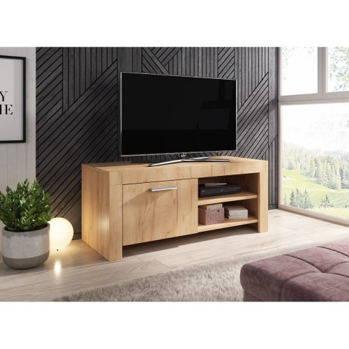 Oak Gold Tv Unit Cabinet Stand Sideboardparis E Com 140 Cm Home