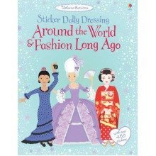 Sticker Dolly Dressing Around the World and Fashion Long Ago