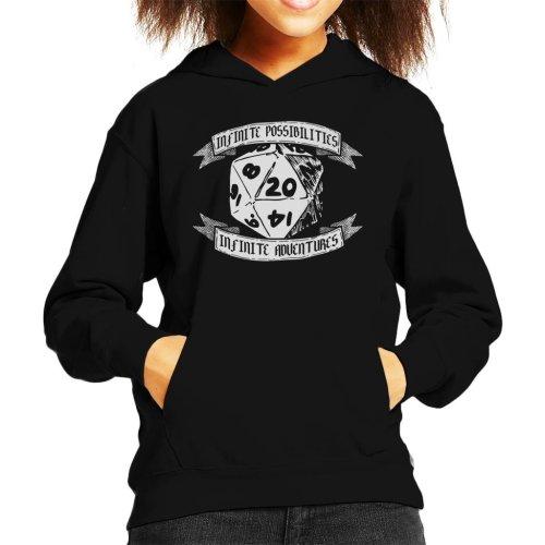 Infinite Possibilities Infinite Adventure Kid's Hooded Sweatshirt