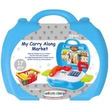 My Carry Along Pizza Shop / Supermarket / Kitchen Bake Off Travel Toys & Case[My Carry Case Supermarket]