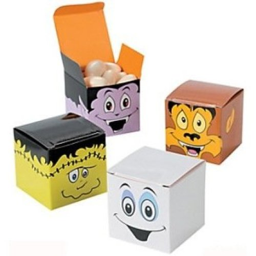 Pack of 12 - Cool Ghoulz Halloween Small Gift Boxes
