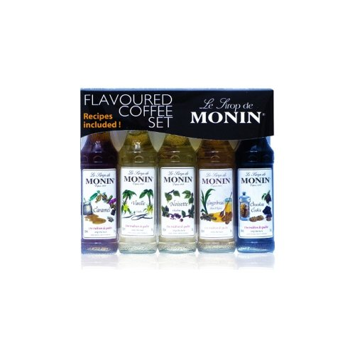 Monin Syrup Coffee Gift Set (5x5cl)