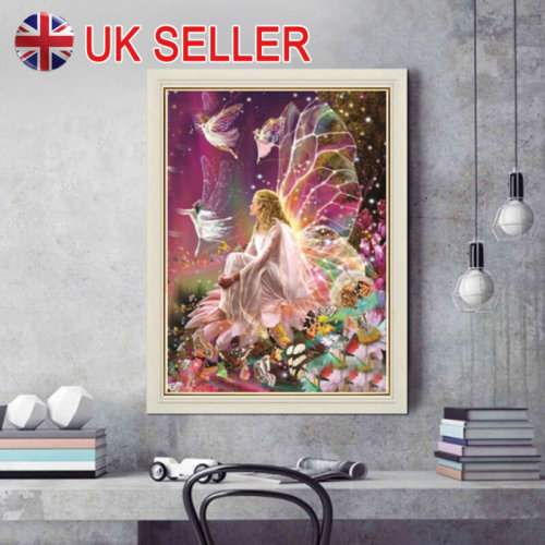 DIY 5D Diamond Painting Crystal Rhinestone Embroidery Pictures Arts Fairy Queen