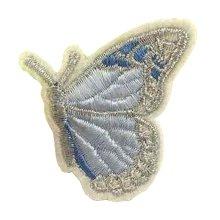 6 Pcs Exquisite Applique Patches DIY Applique Embroidered Patches, Butterfly