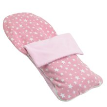 Snuggle Summer Footmuff Compatible With Obaby Atlas - Light Pink Star