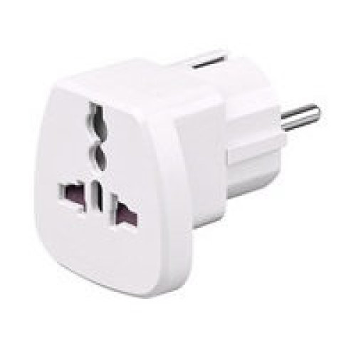 Microconnect PETRAVEL Universal White power plug adapter