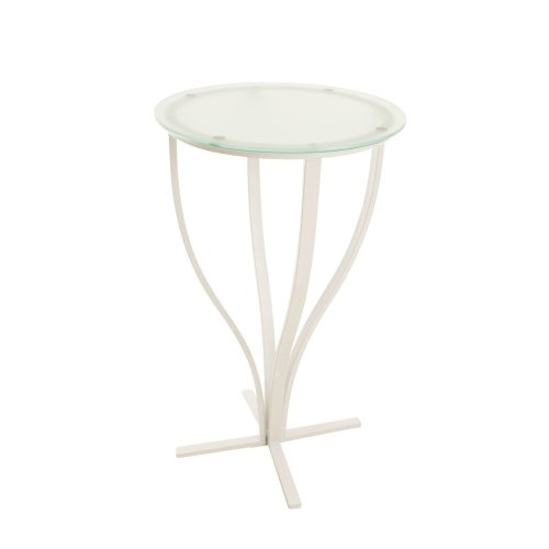 Bar table Rosario, matt white