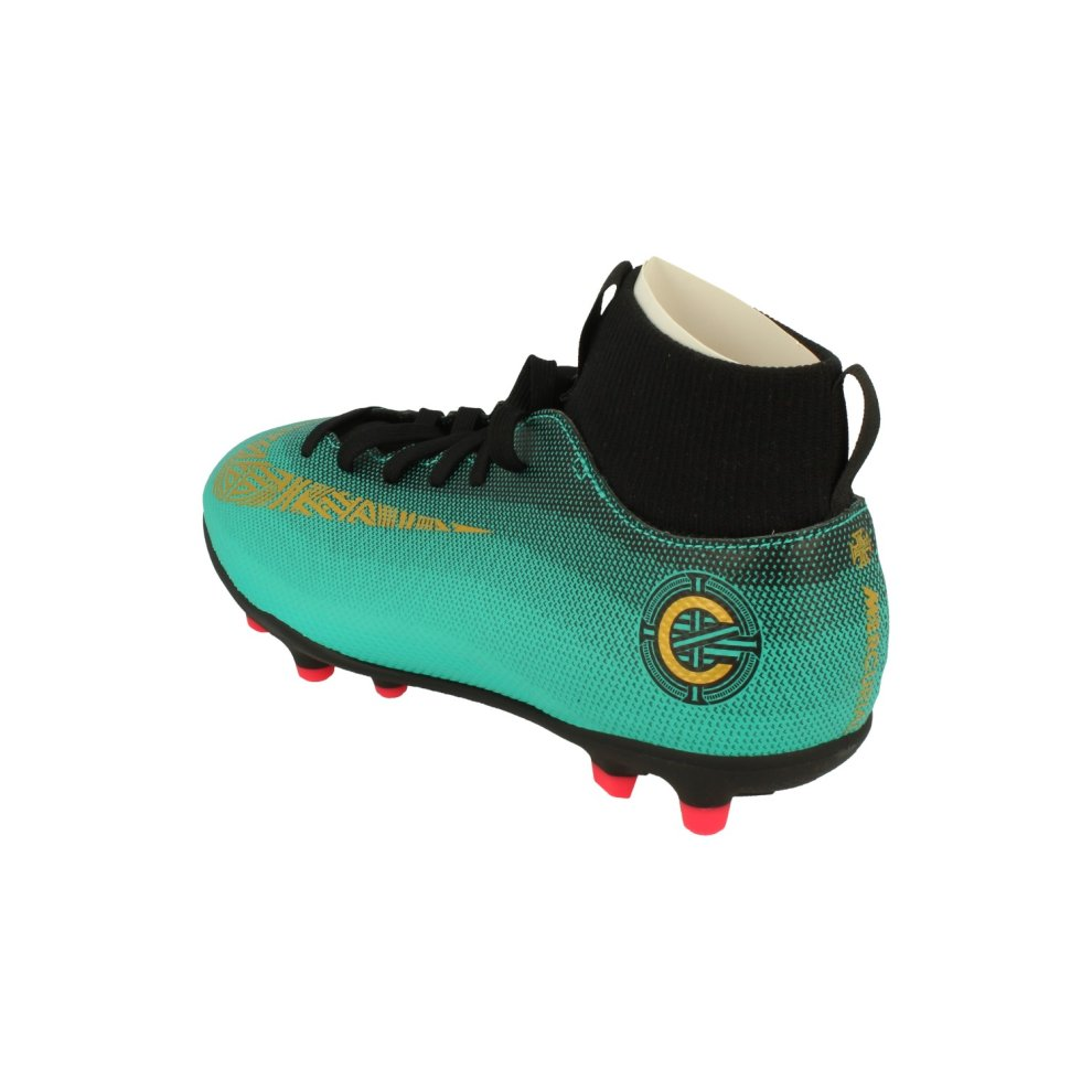 56c4d295f2f5 Boys' Shoes Nike Junior Superfly 6 Club Cr7 Tf Football Boots Aj3088 Soccer  Cleats