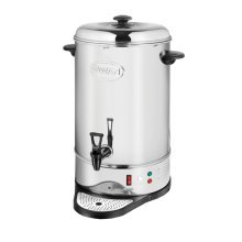 Swan Catering Tea Urn 20L Capacity 2200W - Silver (Model No. SWU20L)