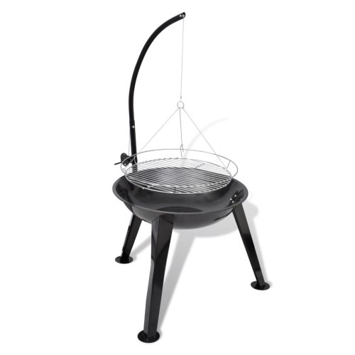 BBQ Stand Charcoal Barbecue Hang Round