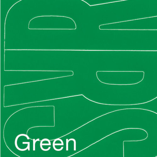 "Permanent Adhesive Vinyl Letters 4"" 95/Pkg-Green"