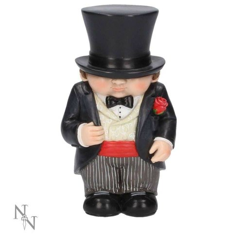 Nemesis Now Mini Me Hubby Wedding Miniature Figurine Ornament Sculpture 14cm