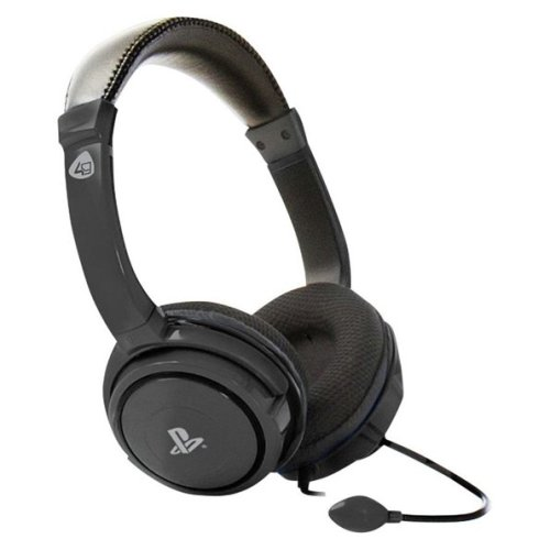 4Gamers PRO4-40 Stereo Gaming Headset for PS4 - Black