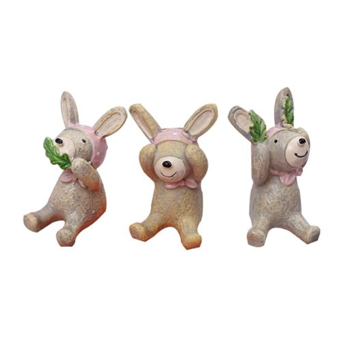 Set of 3 Creative Animal Decoration Perfect Gift for Kids,1.6''