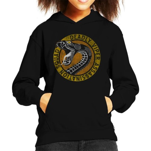 Kill Bill Deadly Viper Assassination Squad Kid's Hooded Sweatshirt