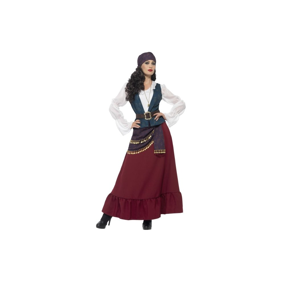 Smiffyu0027s Womenu0027s Deluxe Pirate Buccaneer Beauty Costume Dress Sash Bandana u0026 - costume. u003e  sc 1 st  OnBuy & Smiffyu0027s Womenu0027s Deluxe Pirate Buccaneer Beauty Costume Dress Sash ...