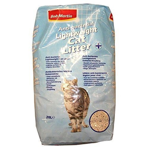 Bob Martin Anti Bacterial Lightweight Cat Litter, 20 Litre