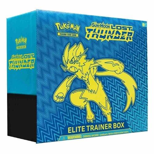 Pokemon TCG Sun & Moon Lost Thunder Elite Trainer Box