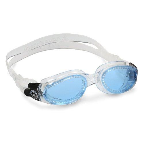 Aqua Sphere Kaiman Swimming Goggles - Blue Lens