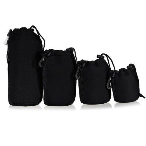 New Soft Neoprene Waterproof DSLR Camera Lens Bag Case