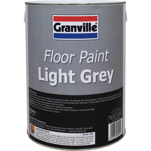 Light Grey Floor Paint - 5 litre