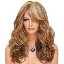 Long Wave Fluffy Synthetic Wig