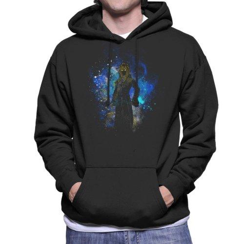 Goblin King Silhouette Labyrinth Men's Hooded Sweatshirt