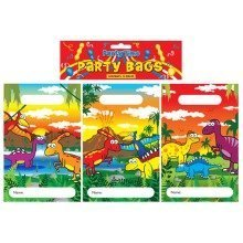12pc Dinosaur Party Bags