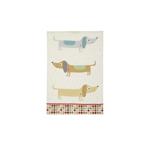 Ulster Weavers Hot Dogs Styled Cotton Tea Towel