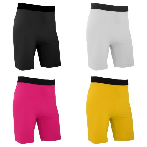 FLOSO Mens Premium Baselayer Quick Drying Wicking Sports Shorts