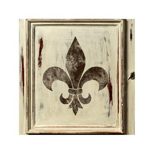 FLEUR DE LYS Furniture Wall Floor Stencil for Painting