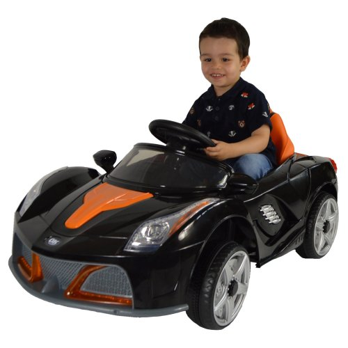 Kids Electric Remote Control Ride On Sports Car With Lights And Sounds