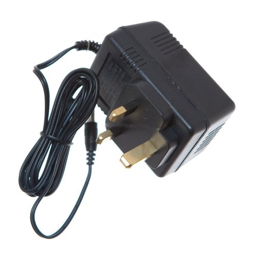 AC ADAPTOR / CHARGER PLUG for Rechargable BIKE/CYCLE BATTERY (220-240v) 50hz 6v